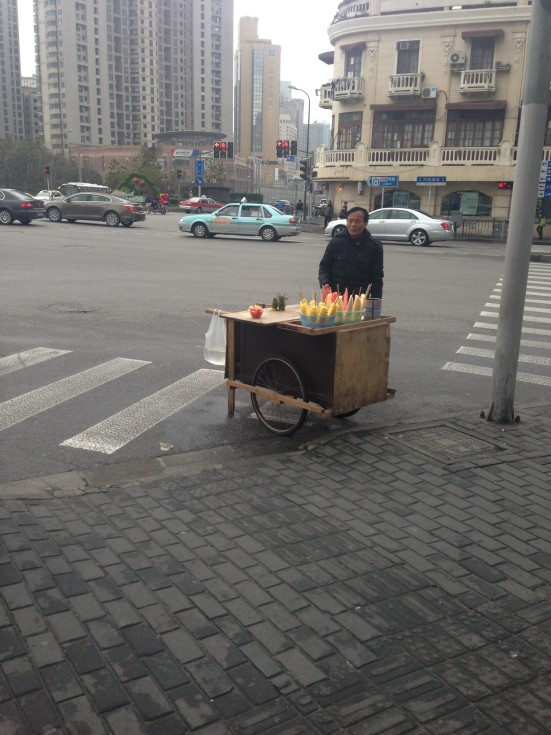 Shanghai Straßenverkauf