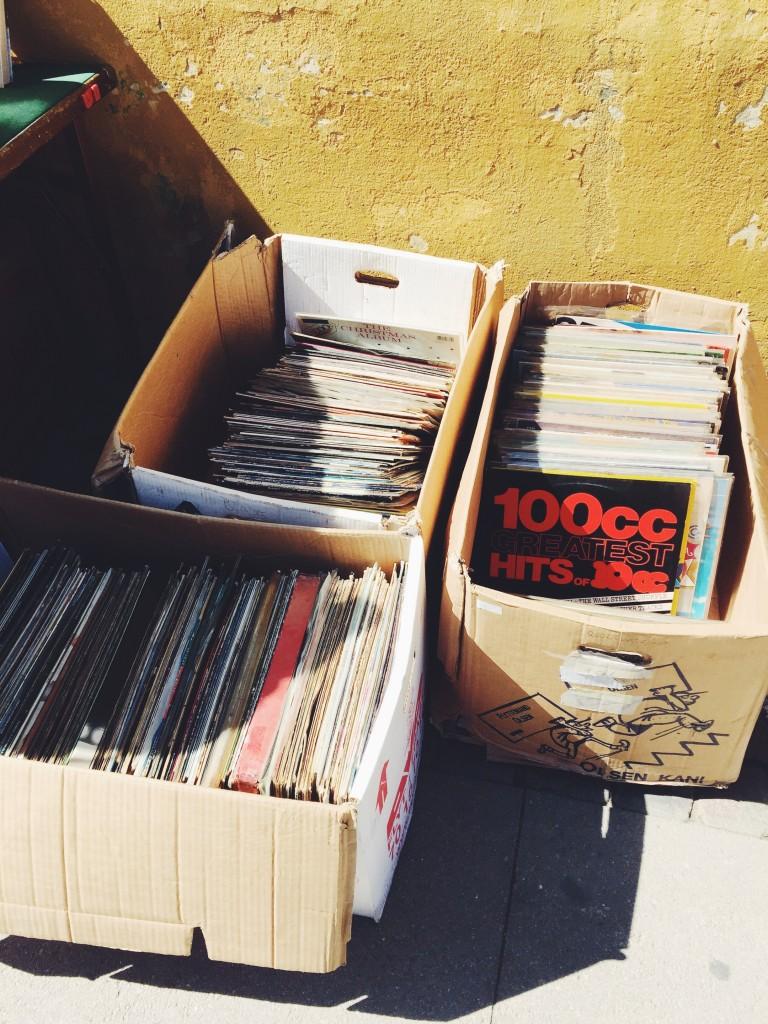 Flohmarkt Schallplatten