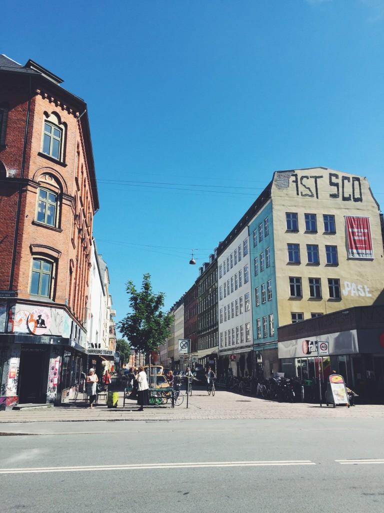 tolle Straßen Kopenhagen