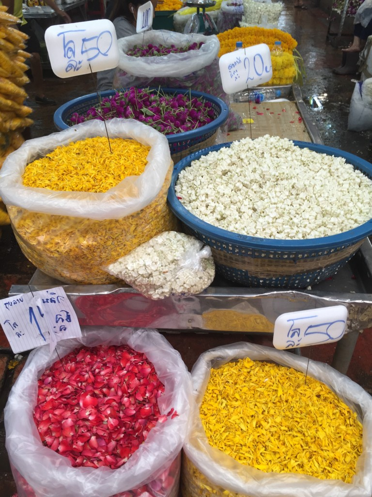 Blüten Blumenmarkt
