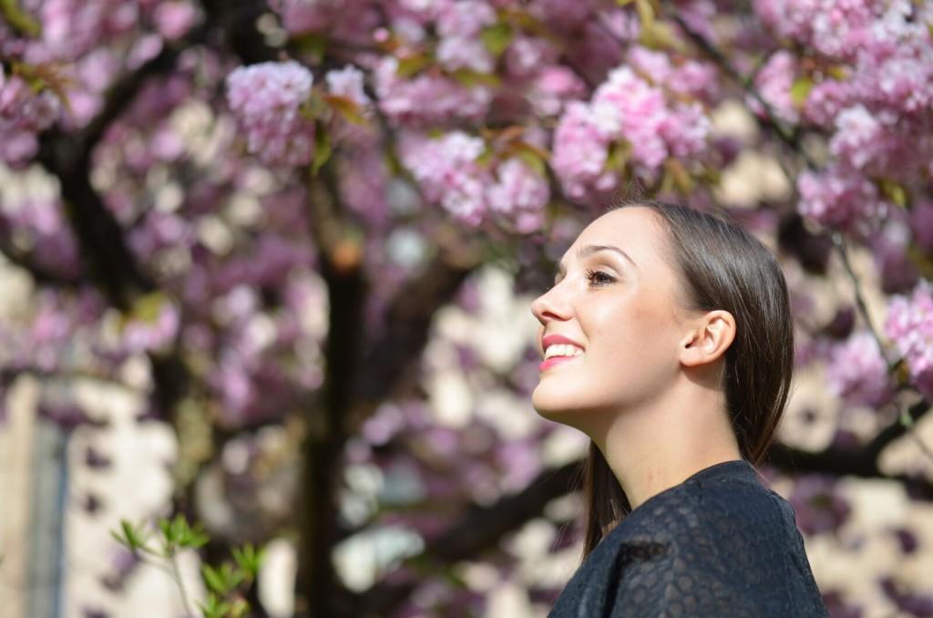 Detail Gesicht Ivy Park Cécile