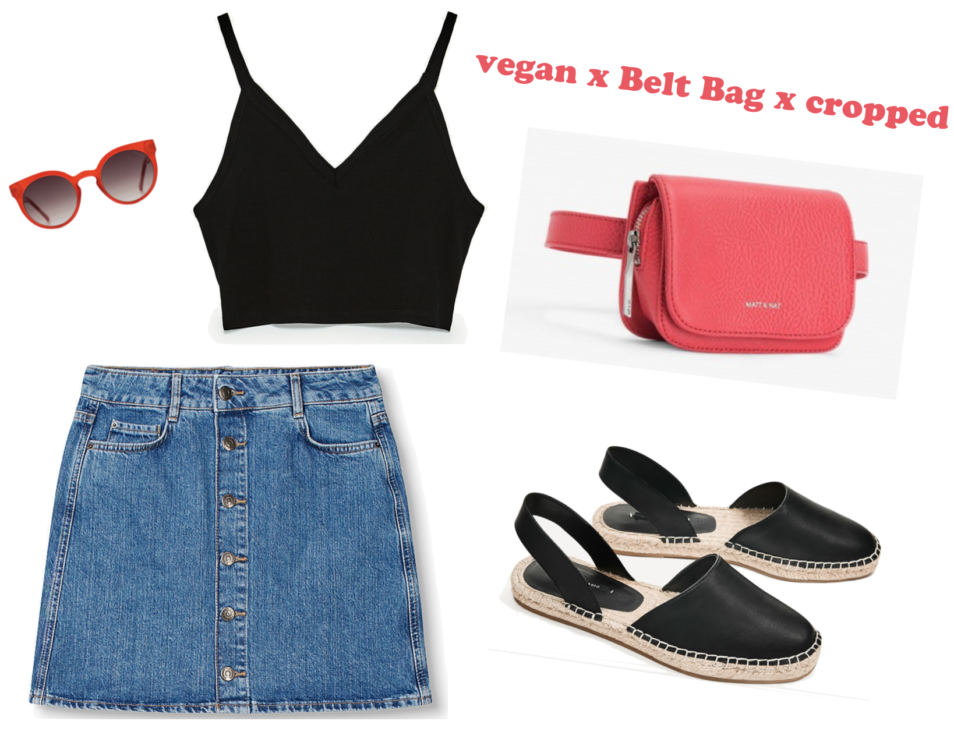 Vegan x Belt Bag x cropped